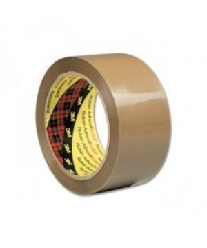 3M Scotch Box Sealing Tape 371 Buff, 25 mm (72 role)