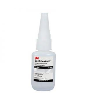 3M Scotch-Weld Surface Insensitive Instant Adhesive SI Gel (20 fiole)
