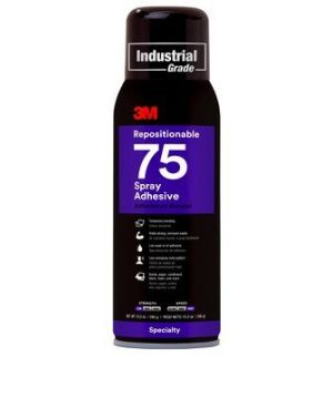3M Scotch-Weld Repositionable Adhesive Spray 75CA
