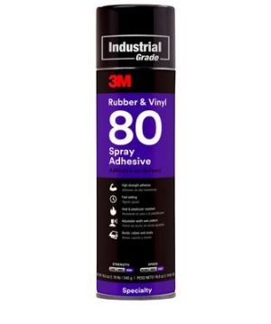 3M Rubber And Vinyl 80 Spray Adhesive