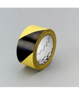 3M Hazard Warning Tape 766 Yellow/Black