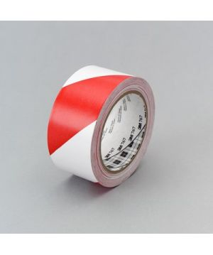 3M Banda de marcare 767 Red/White 50 MM