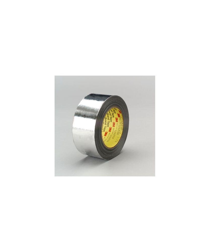 3M High Temperature Aluminum Foil/Glass Cloth Tape 363