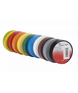 3M Temflex 1500 PVC Electrical Tape (100 role)